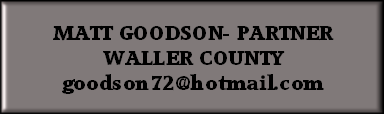 MATT GOODSON- PARTNER